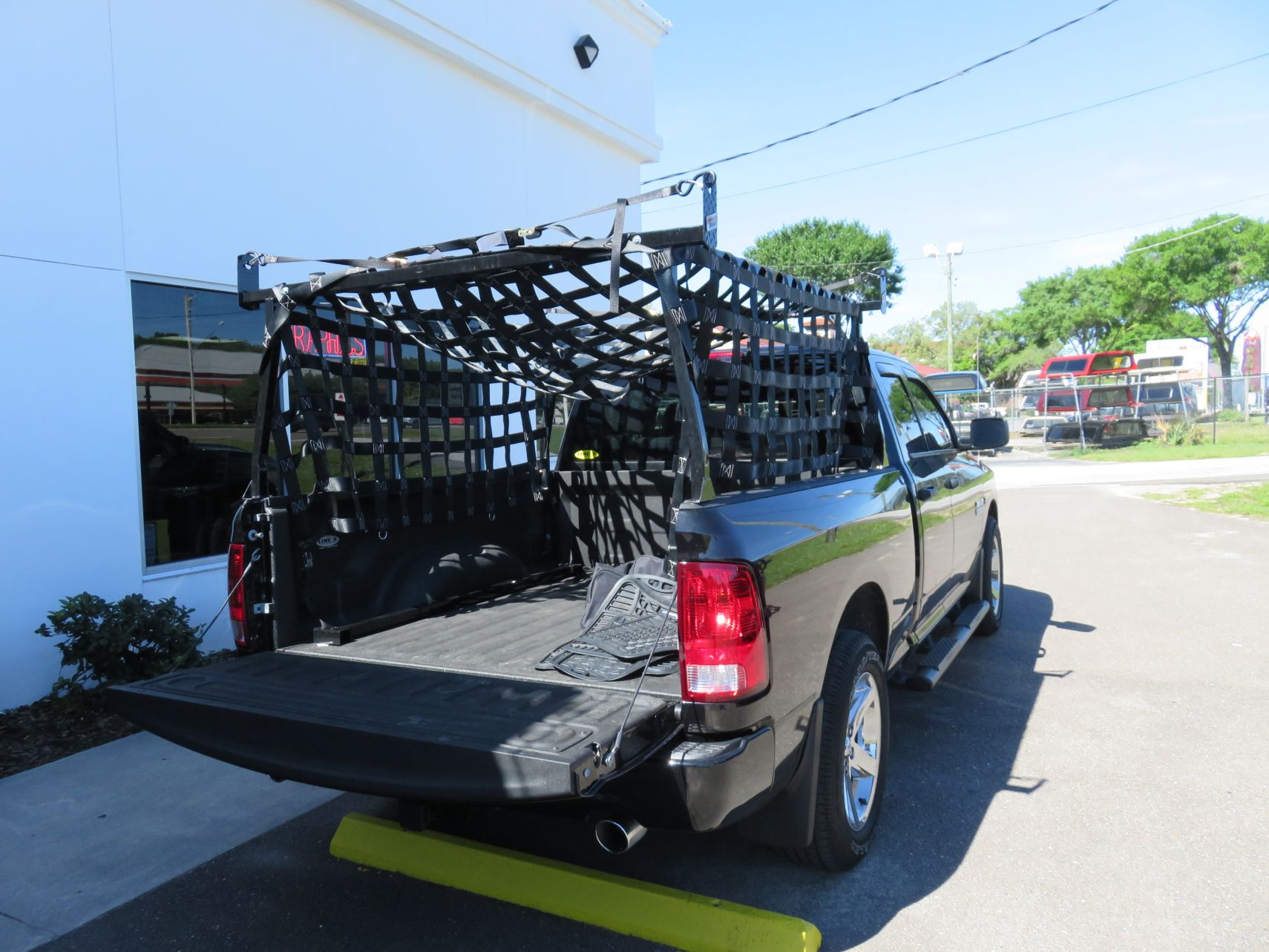 Truck Bed Cargo Net >> Commercial Racks and Carriers - TopperKING : TopperKING ...
