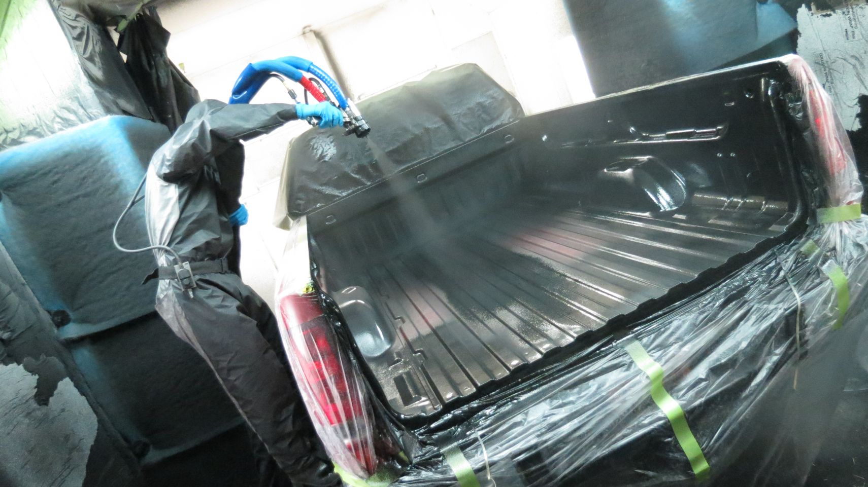 Spray On Bedliner - TopperKING : TopperKING | Providing ...