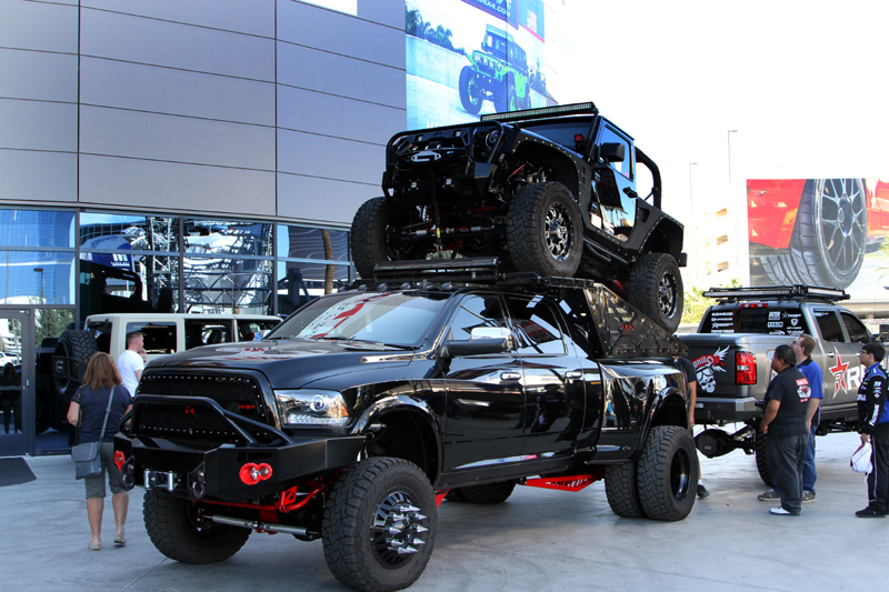 Hot Trucks And Jeeps From The 2015 SEMA Show - TopperKING ...