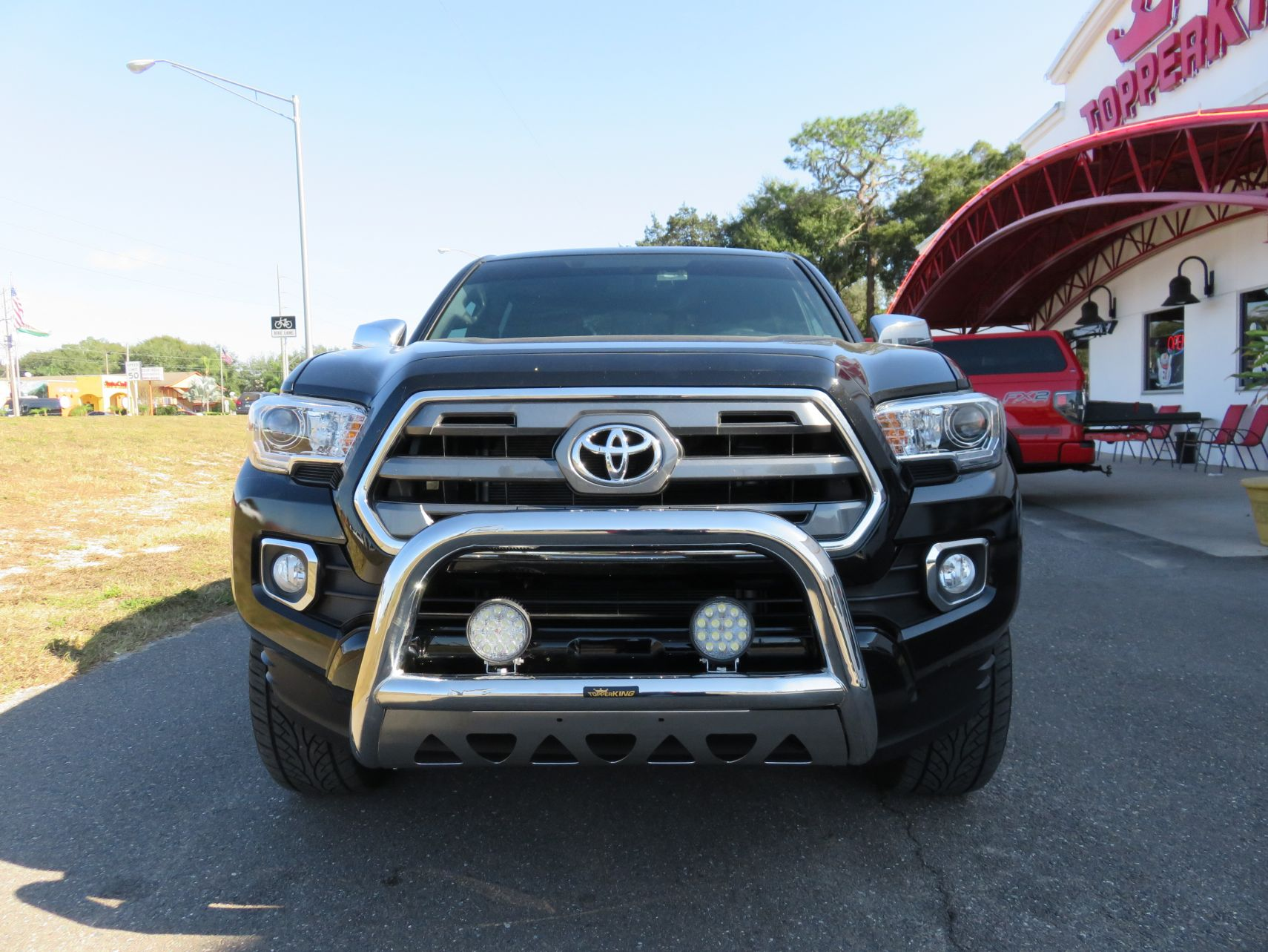Toyota tacoma go rhino bull bar with lights topperking back to articles aloadofball Image collections