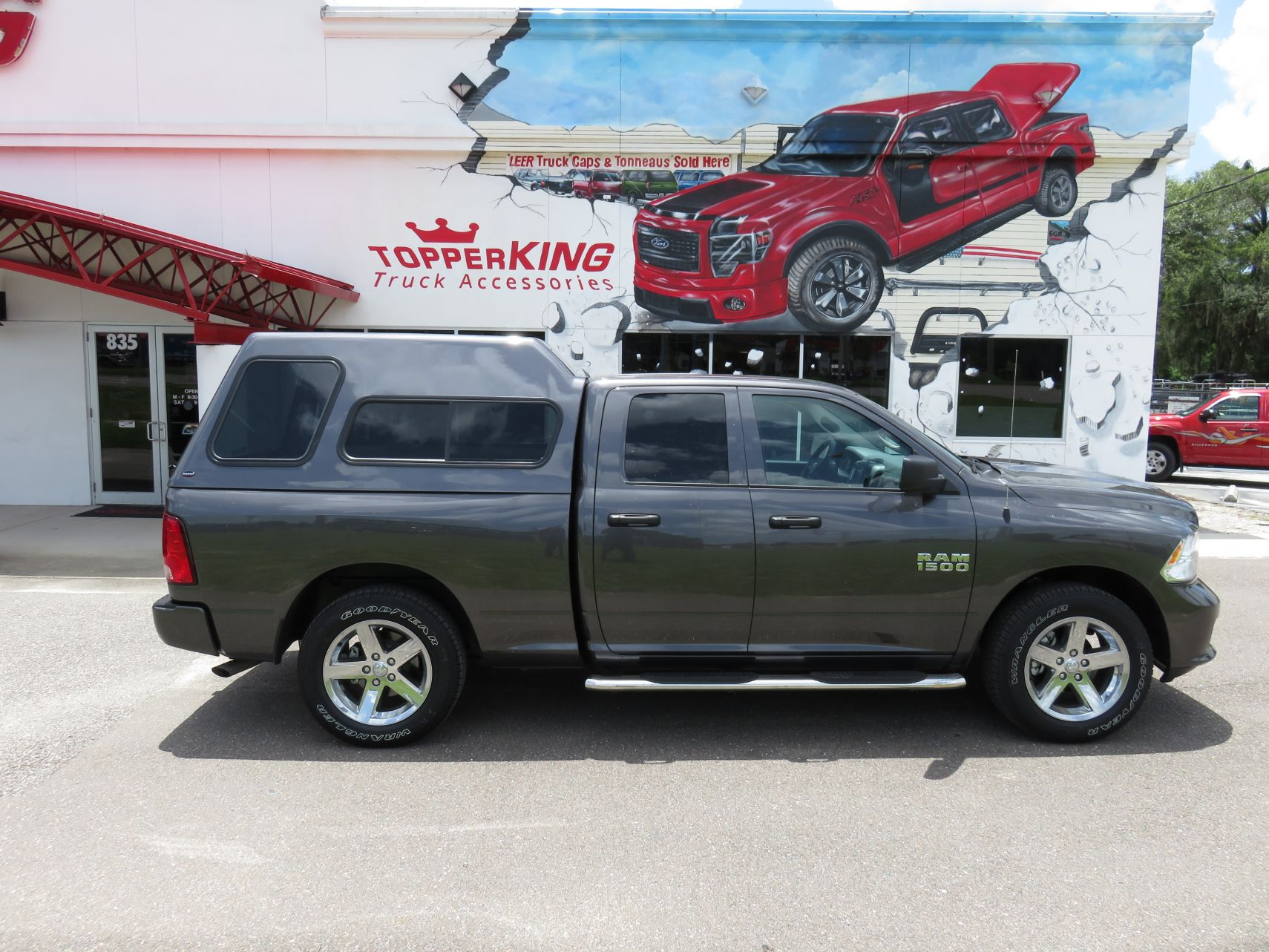 Dodge RAM 1500 with Ranch Supreme & Dodge Archives - TopperKING : TopperKING | Providing all of Tampa ...