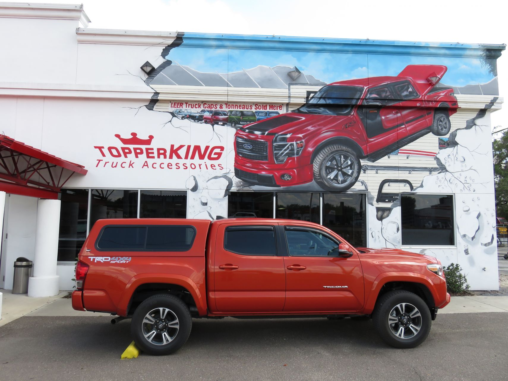 2017 Toyota Tacoma Running Boards >> Ranch Sierra - TopperKING : TopperKING | Providing all of Tampa Bay with quality truck accessories