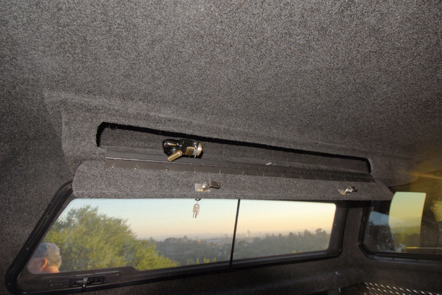 Locking Truck Bed Covers >> Locking Overhead Storage Box - TopperKING : TopperKING ...