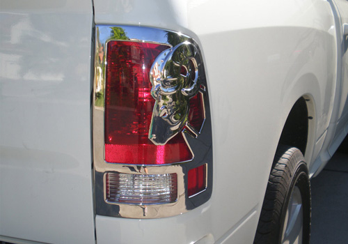Dodge Ram Running Boards >> Chrome Accessories - TopperKING : TopperKING | Providing ...