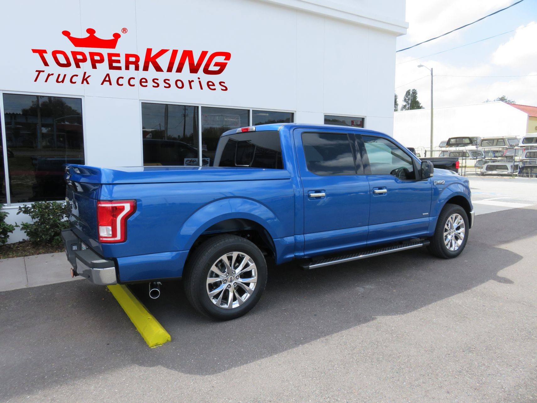 2016 Ford Leer 750 Sport Tonneau And Hitch Topperking Topperking Providing All Of Tampa Bay With Quality Truck Accessories