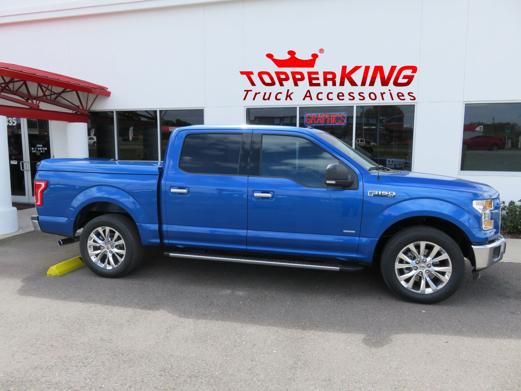 Leer 750 Sport Tonneau On Ford F150 Topperking