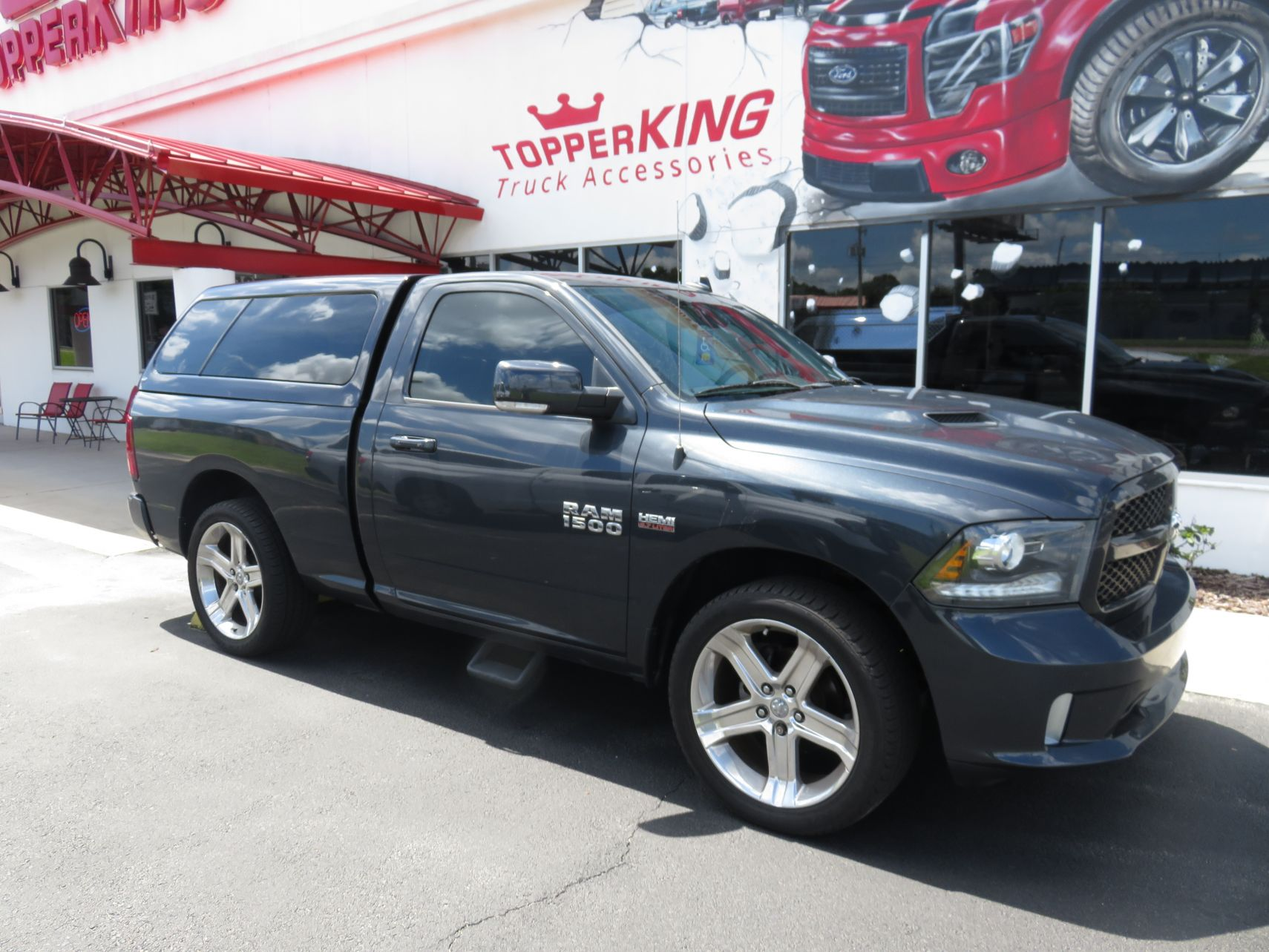 2017 Dodge Ram Accessories >> 2017 Dodge Ram 1500 Ranch Icon Topperking Topperking