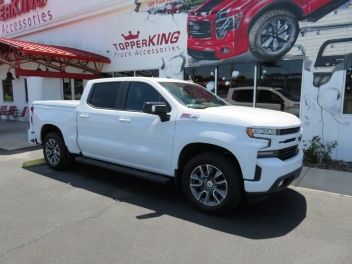 2019 Chevy Silverado LEER 550 Hitch Nerf Bars - TopperKING ...