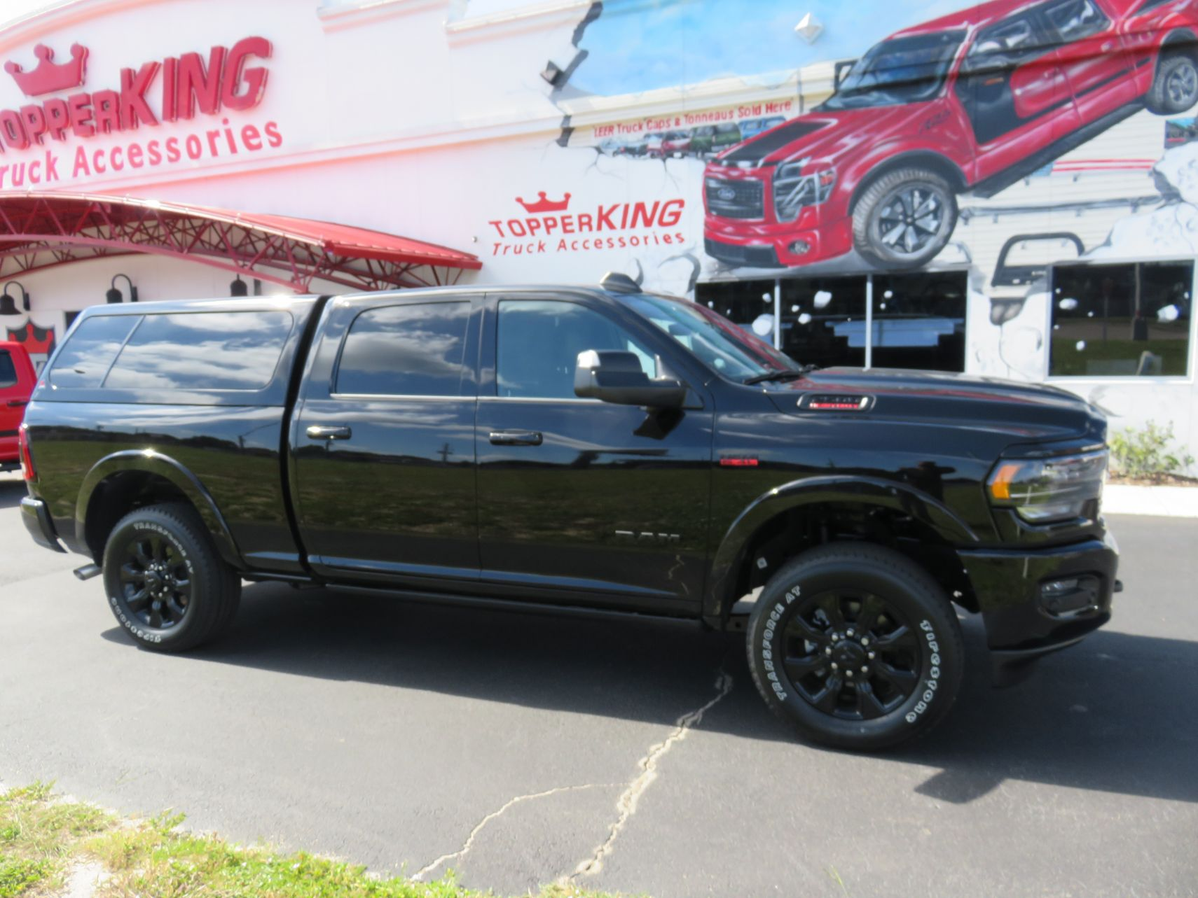2020 Ram Leer 100xl With Hitch And Tint Topperking Topperking Providing All Of Tampa Bay With Quality Truck Accessories